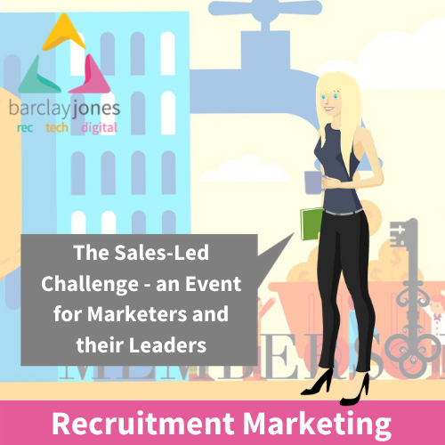 The Sales Led Recruitment Marketing Challenge Members Only