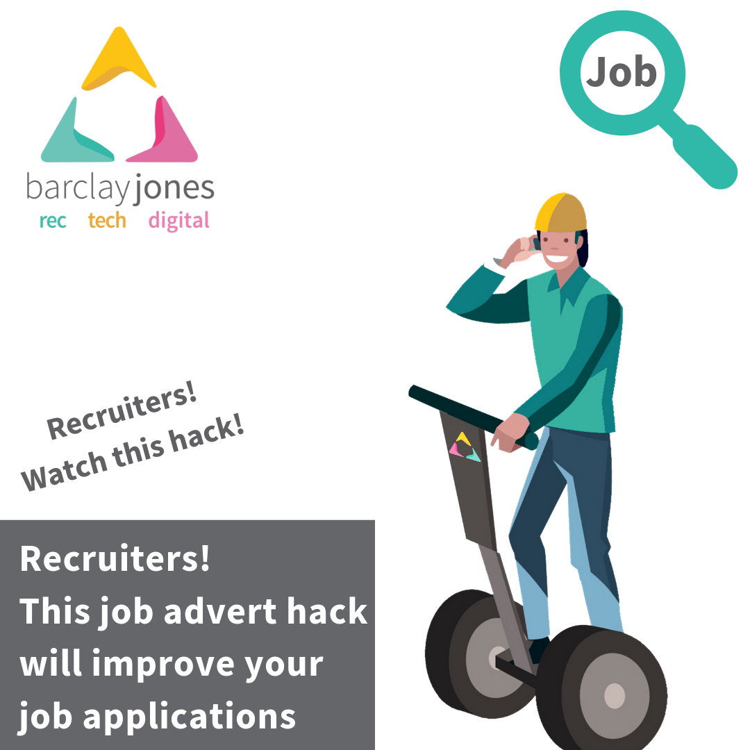 Job Advert Hack Recruited There Before 1