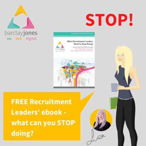 Recruitment Leaders' ebook - what to stop doing